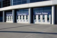 Vendite del biglietto Fotografia Stock