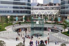 Vendite della memoria del Apple a Schang-Hai Fotografia Stock Libera da Diritti
