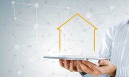 Vendite della proprietà e del bene immobile Immagine Stock Libera da Diritti
