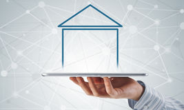 Vendite della proprietà e del bene immobile Immagine Stock