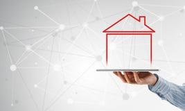 Vendite della proprietà e del bene immobile Immagini Stock Libere da Diritti