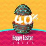 Vendite di Pasqua, offerte di stagione e sconti Fotografia Stock