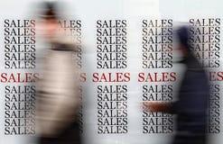 Vendite di stagione Immagine Stock