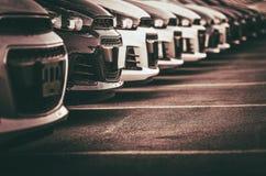 Vendite e industria dei mutui dell'automobile immagine stock