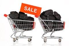 Vendite nere di venerdì Fotografia Stock