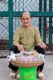Venditore ambulante Fotografia Stock