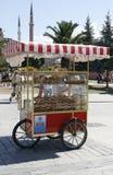 Venditore ambulante a Costantinopoli Fotografia Stock