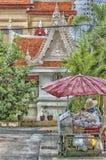 Venditore ambulante Painting di Phetchaburi Fotografia Stock Libera da Diritti