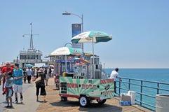 Venditore del hot dog Fotografia Stock Libera da Diritti