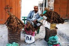 Venditore del tabacco Fotografia Stock Libera da Diritti