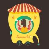 Venditore della limonata Fotografia Stock Libera da Diritti