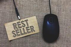 Venditore di resto del testo di scrittura di parola Concetto di affari per una caratteristica o il beneficio percepito buon che g immagini stock