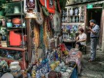 Venditore di Shanghai Fotografia Stock Libera da Diritti