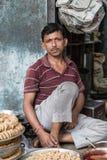 Venditore indiano Immagini Stock Libere da Diritti