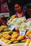 Venditore tailandese immagini stock