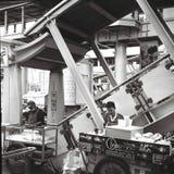 Venditori ambulanti alle stazioni del asok fotografia stock libera da diritti