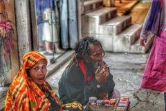 Venditori ambulanti in Dacca immagini stock