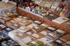 Venditori cambogiani Immagine Stock