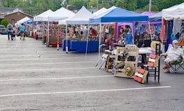 Venditori a Vinton Dogwood Festival Immagine Stock