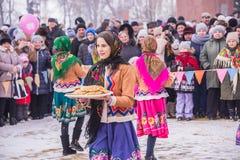 Vendo o inverno do russo fotos de stock royalty free