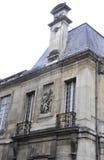 Vendome历史建筑上面从巴黎的在法国 库存图片