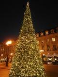 Vendome рождества Парижа Франции на месте стоковая фотография