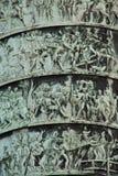 Vendome Column - Detail stock photography