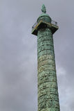 Vendome column in Paris Royalty Free Stock Photos