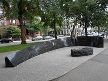Vendome hotelu ogienia pomnik, wspólnoty narodów alei centrum handlowe, Boston, Massachusetts, usa zdjęcie royalty free