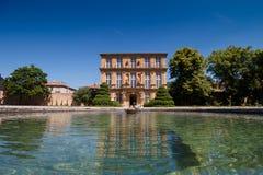 Vendome. Pavillon de Vendome in nice garden during sunny in Aix-en Provence, France Stock Photo
