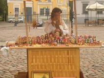 Vendor Cart Stock Photography