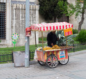 Vendor in istanbul Stock Photography