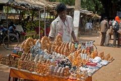 Vendor at Konark Stock Photography