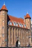 Vendor's Gate in Gdansk Stock Images