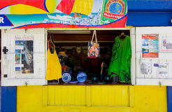 A vendor's stall in the windward islands Stock Photography
