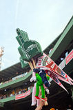 Vendor selling Fenway Park souvenirs Royalty Free Stock Images