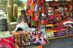 Vendor in Uquia, Argentina Stock Photography
