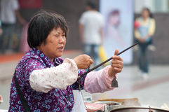 Vendors in China Stock Images