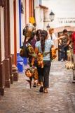 Vendors crafts in Taxco Guerrero Stock Photos