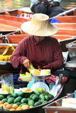 Vendors sell fruits Stock Images