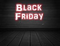 Vendredi noir Photographie stock libre de droits