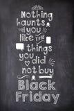 Vendredi noir Photo stock