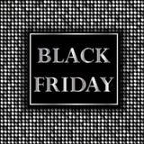 Vendredi noir Vente Fond avec la mosaïque Image libre de droits