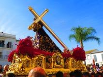 Vendredi Saint à Alora Photographie stock libre de droits