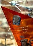 Vendremos a la victoria del trabajo del comunista Foto de archivo libre de regalías