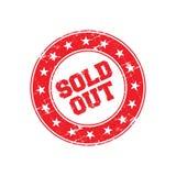 Vendu Logo Badge Photo libre de droits
