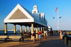 Vendue Pier Charleston Fotografía de archivo libre de regalías