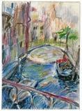 Venecia 1 ilustración del vector