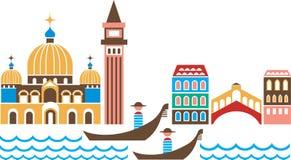 Venecia ilustración del vector