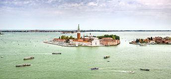 Venecia air view Royalty Free Stock Photography